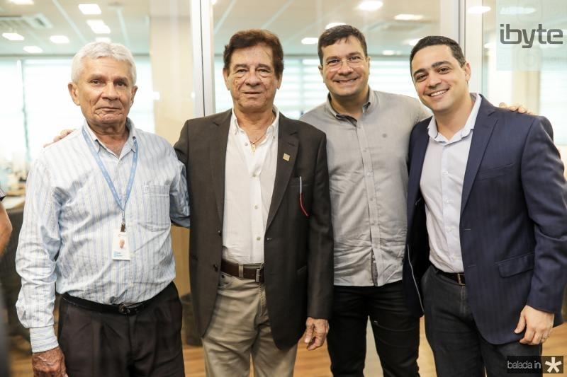 Jose Tavora, Elias Carmo, Marcos Filgueiras e Mauricio Gonsalves