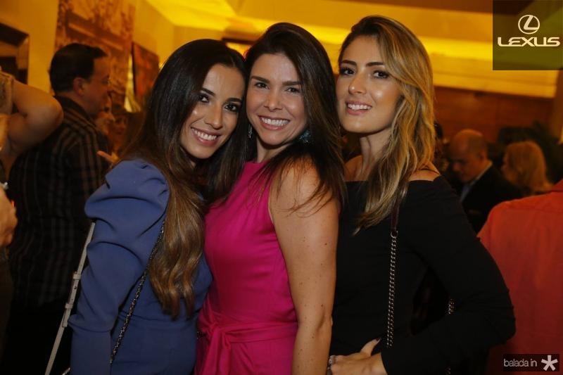 Katia Lobo, Roberta Costa e Melina Dias