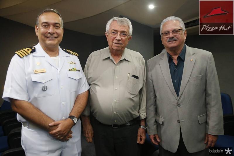 Madson Cardoso, Roberto Macedo e Victor Frota