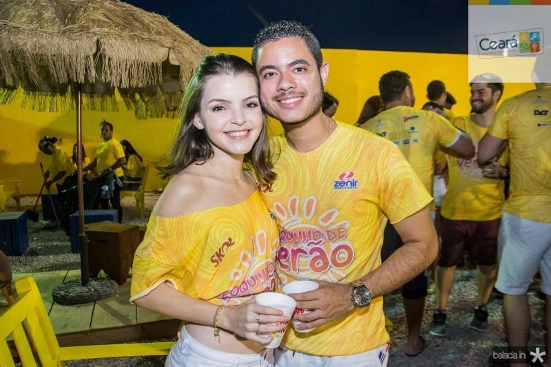 Marly Sousa e Daniel Reis