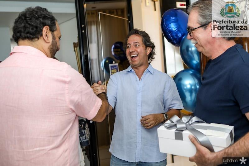 Patriolino Dias com Rodrigo e Eugênio