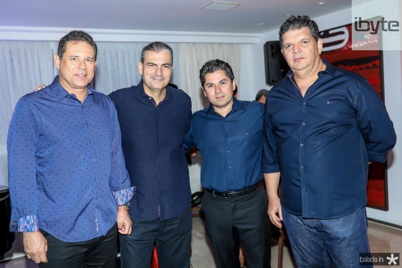 Marcus Medeiros, Alexandre Sales, Pompeu Vasconcelos e Wicar Pessoa