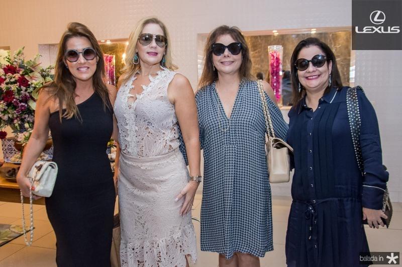 Ana Vladia Sales, Marcia Peixoto, Claudia Gradvohl e Amelia Brandao