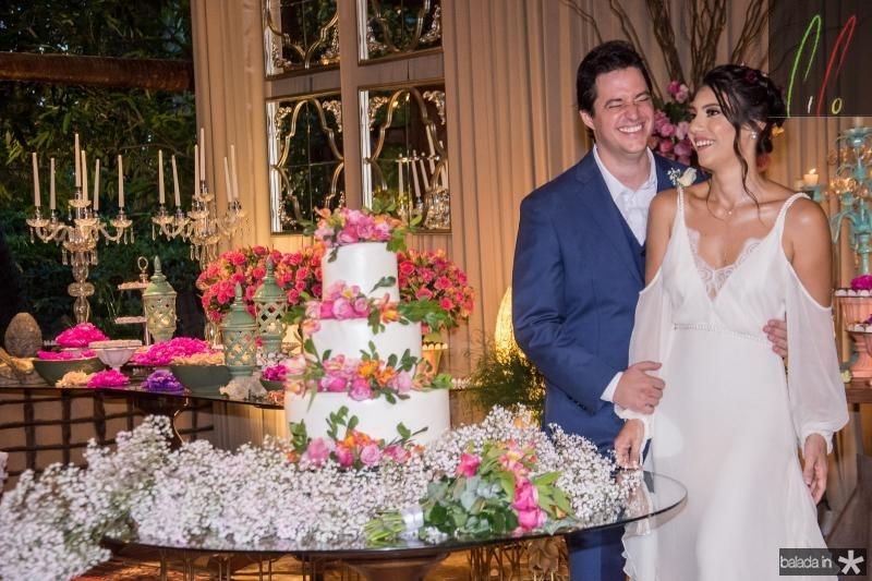 Joao Cabral Fiho e Carla Braga (