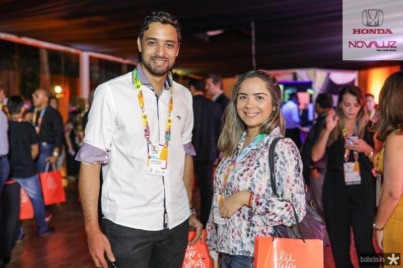 Tiberio Moreira e Rozana Guedes