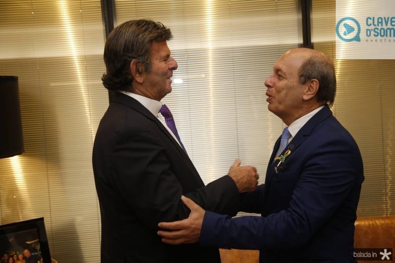 Luiz Fux e Andre Montenegro