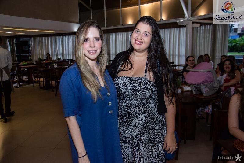 Cristina Barroso e Karolina Sousa
