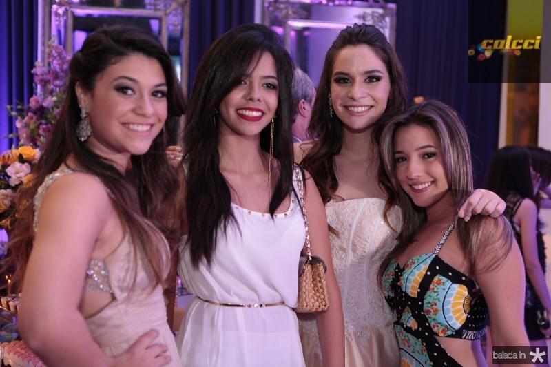 Beatriz Albuquerque,Leticia Moura,Carou Albuquerque e Ivana Pinheiro