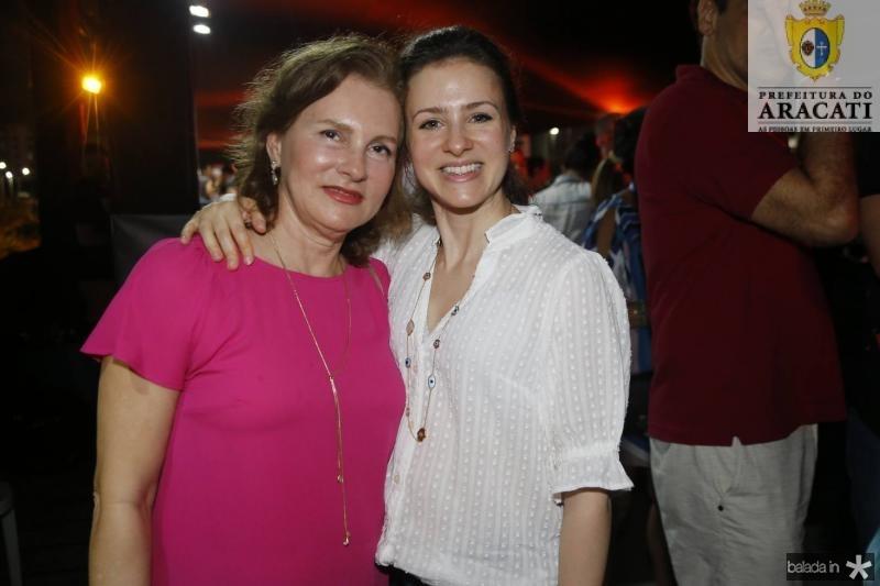 Renata Jereissati e Natalia Macedo