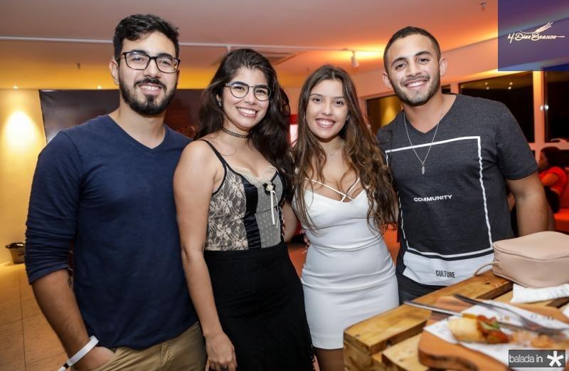 Leonardo Reis, Mariana Oliveira, Keila Oliveira e Rodrigo Santiago