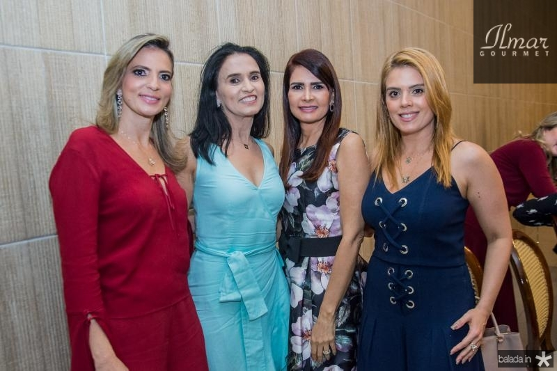 Michele Aragao, Neuza Rocha, Lorena Pouchain e Leticia Studart