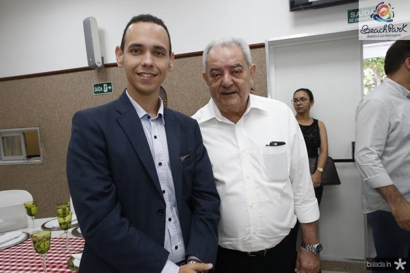Pedro Rocha e Adail Fontenele