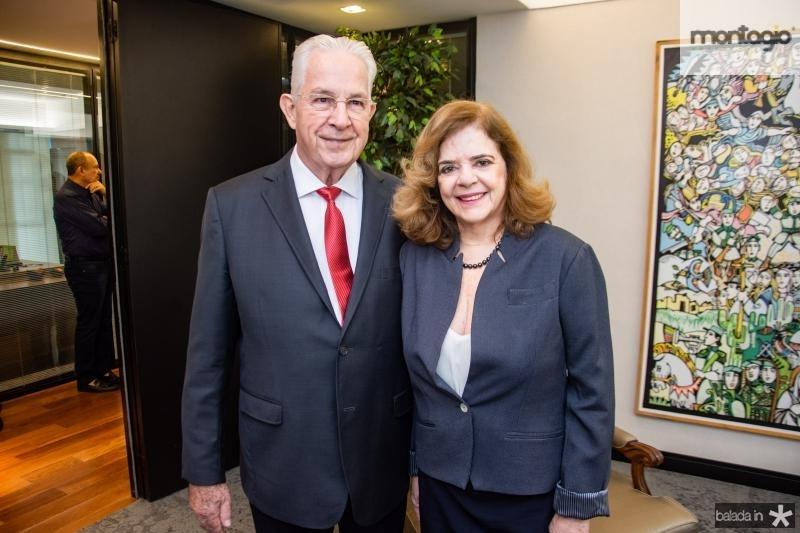 Carlos Prado e Roseane Medeiros