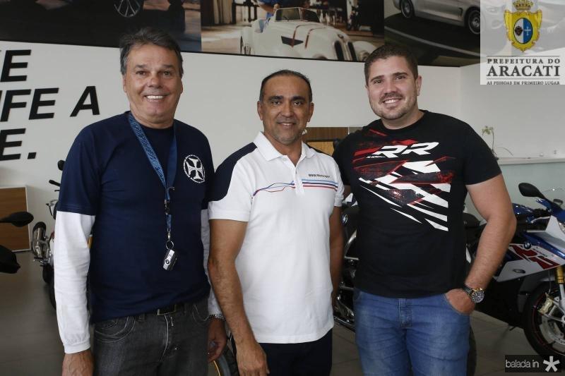 Ernane Prudente, Marcos Vinicius e Simon Nascimento