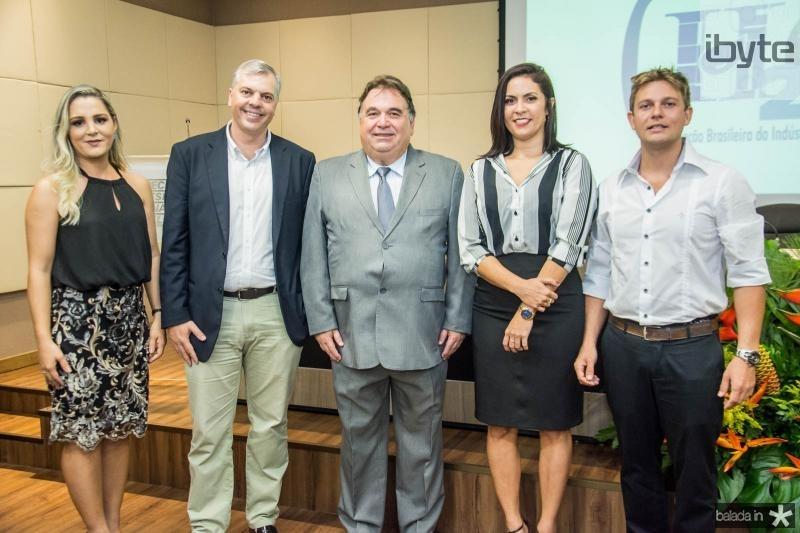 Camila Fragoso, Lucas Ferianci, Carlos Alberto Lancia, Clarissa Aragao e Romulo Leite