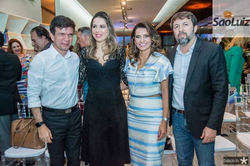 Waldonys, Onelia Leite, Marcia Travessoni e Elcio Batista