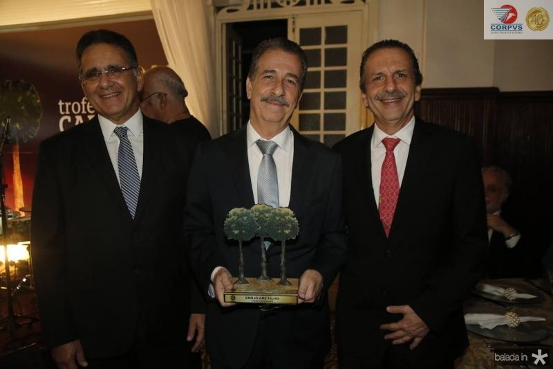 Paulo, Emilio e Pedro Ary