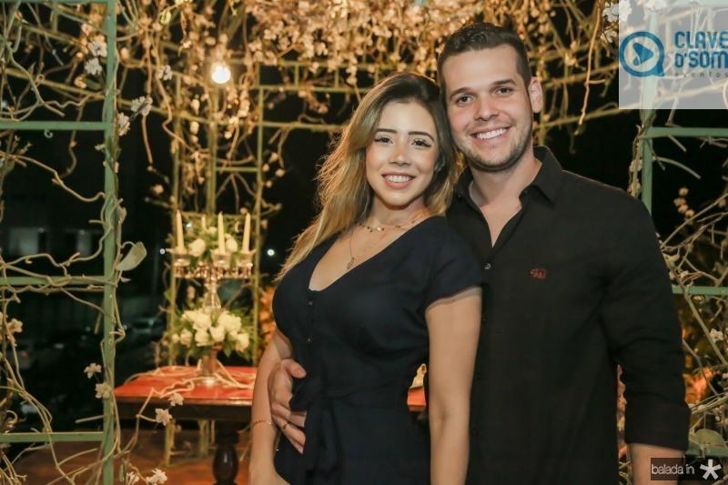 Viviane Machado e Igor Guerreiro
