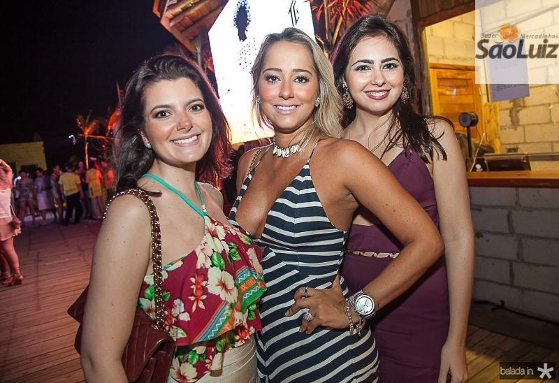 Marcia Palacio, Larissa Lima e Juliana Quinderé