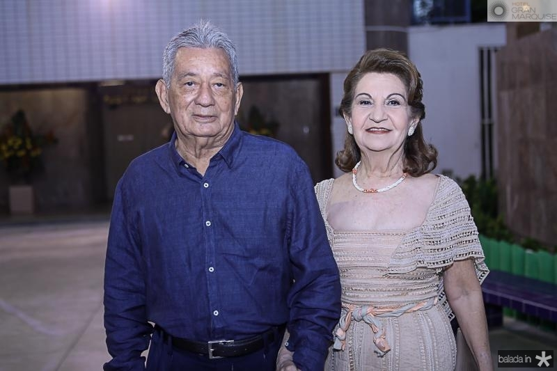 Lauro e Najela Chehab
