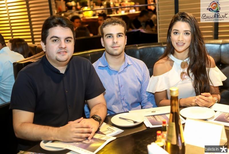 Josias Junior, Paulo Salin e Julia Rebonatto