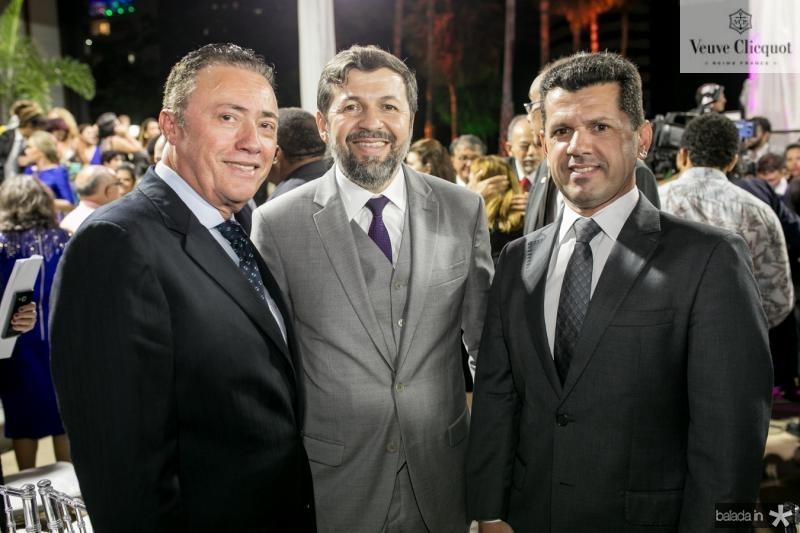 Darlan Leite, Elcio Batista e Erick Vasconcelos
