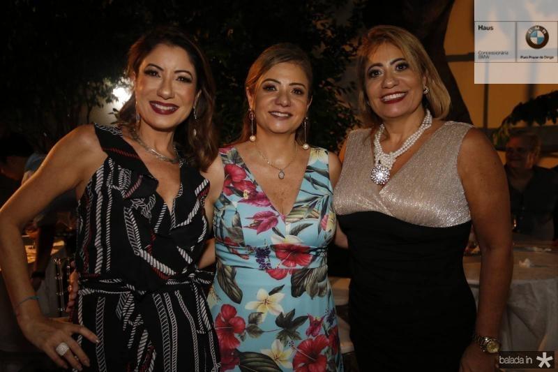 Adriana Mello, Simone Cardoso e Andrea Mello