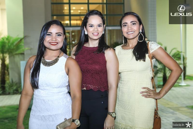 Renata Amorim, Antonia Aline e Magda Andrade