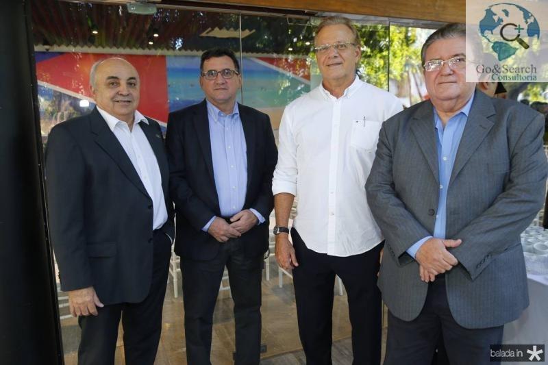 Joao Nicedio, Flavio Ataliba, Adriano Sarquis e Sergio Cavalcante