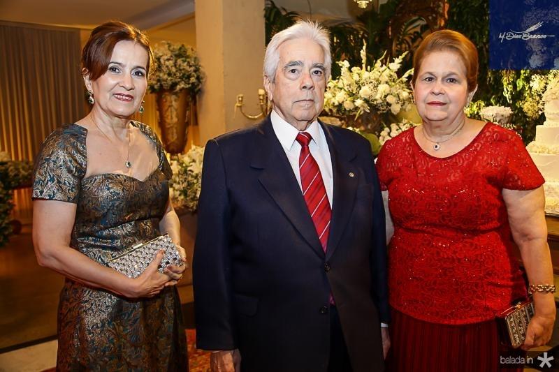 Ines Feijo, Everardo e Mercedes Moizes