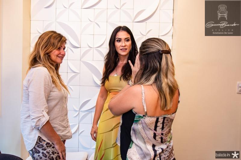 Carla Siqueira, Luciana Carioca e Marcilia Medeiros