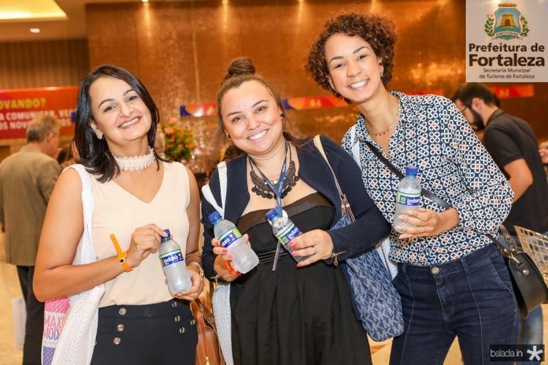 Aldanise Oliveira, Paula Carla e Renata Rangel