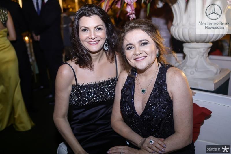 Liliana Farias e Nekita Romcy