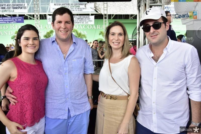 Camile Quintao, Rodrigo, Flavia e Leonardo Carneiro