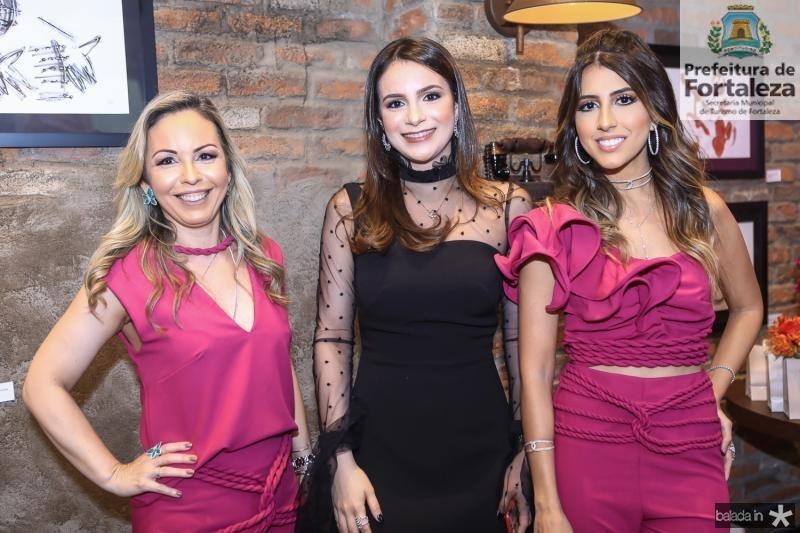 Ingrid Romero, Rosane Tavares e Tayra Romcy