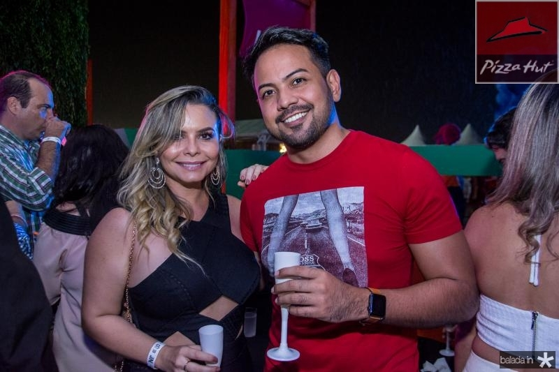 Thays Pontes e Diogo Lourenco
