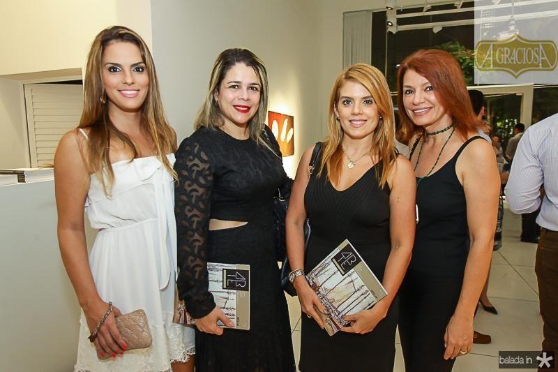 Renata Guimaraes, Flavia Castelo, Leticia Studart e  Suzane Farias