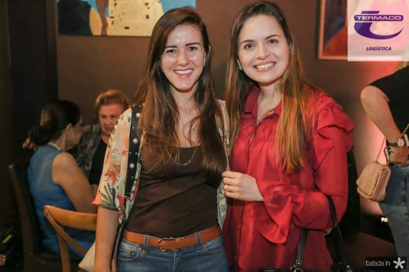 Ruama Pinheiro e Brena Marques
