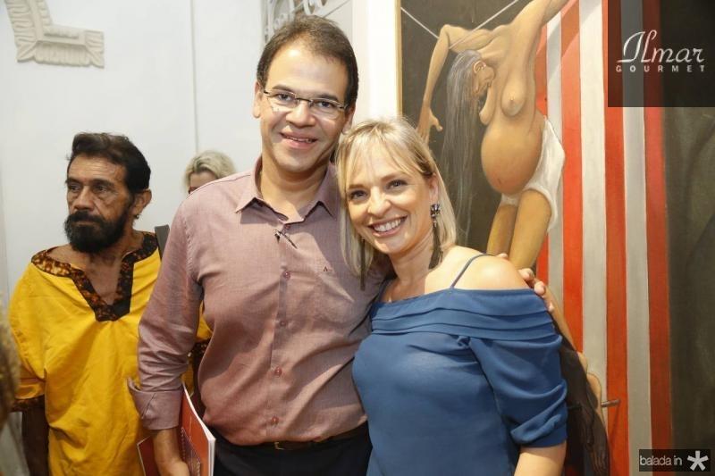 Marcelo Pinheiro e Paola Braga