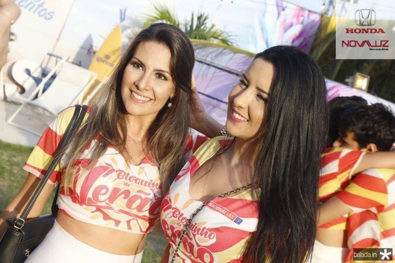 Liz Carvalho e Renata Medina