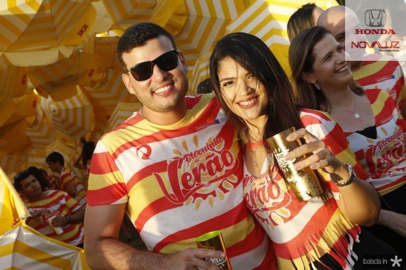 Luiz Diego e Thayane Domingos