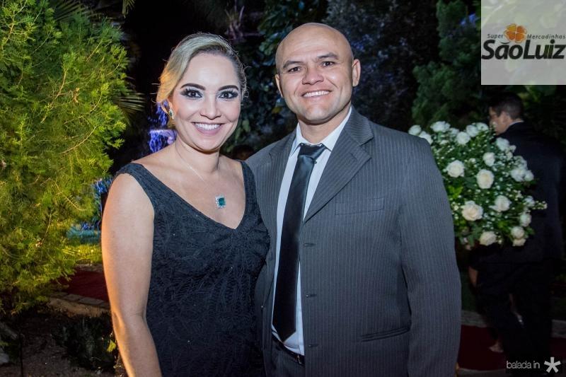 Marja Vilasboas e Andre Nunes