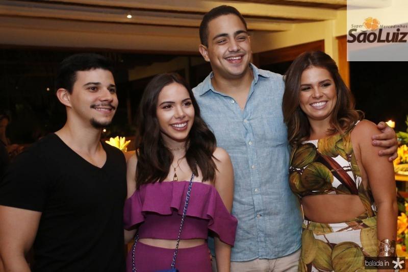 Pedro Paulo, Nicole Vasconcelos, Rafael Pinto e Leticia Studart 1