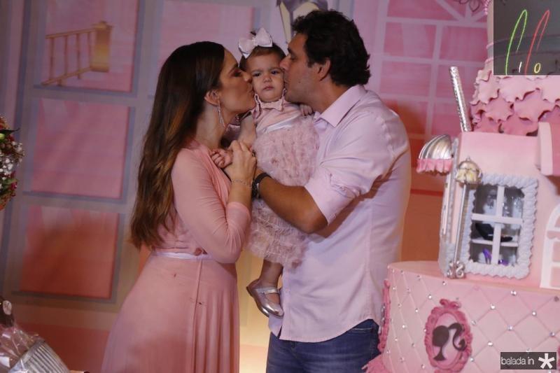 Ana Paula, Lais Domene e Renato Soares