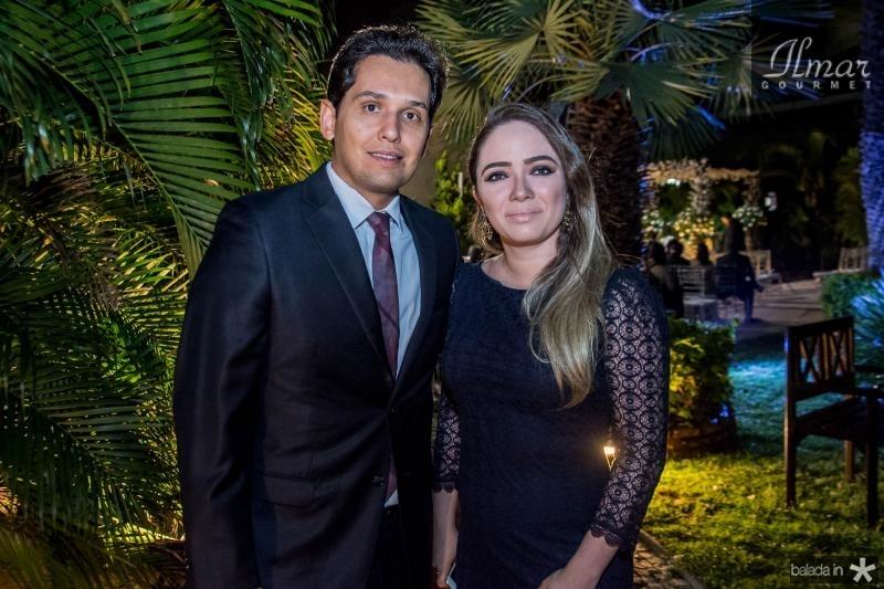 Ricardo e Amanda Feitosa