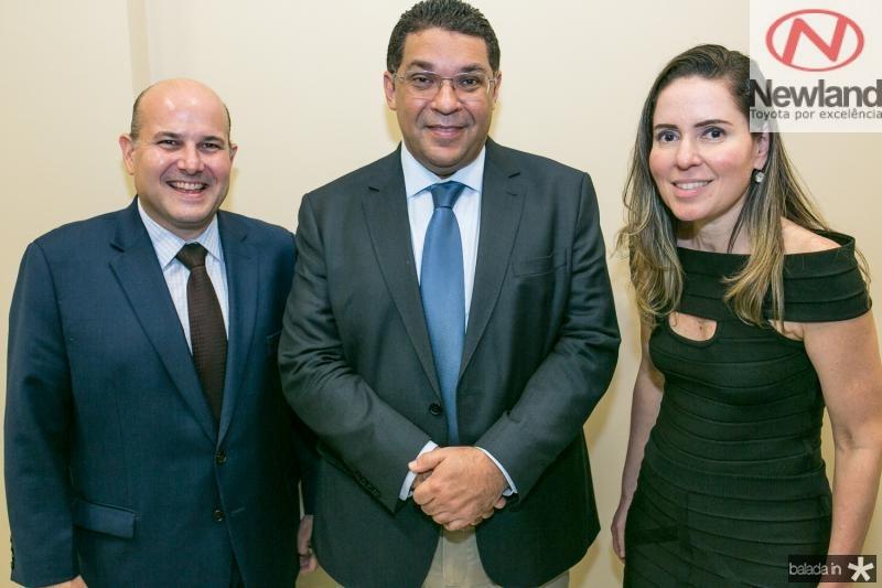 Roberto Claudio, Mansueto Almeida e Agueda Muniz