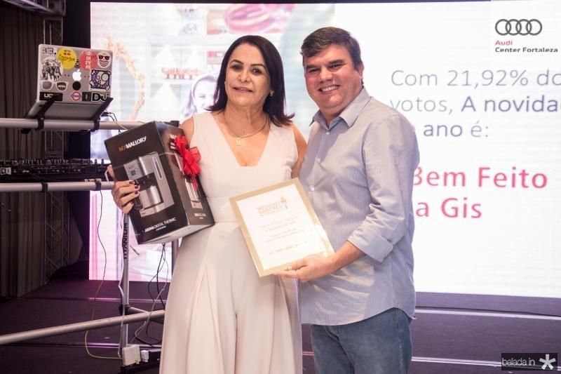 Cleine Carneiro e Marcelo Prado