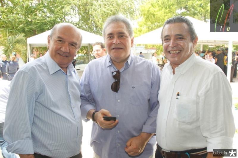 Maurilio Vasconcelos, Luiz Pontes e Carlos Castelo