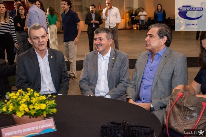 Sarto Nogueira, Antonio Henrique e Zezinho Albuquerque