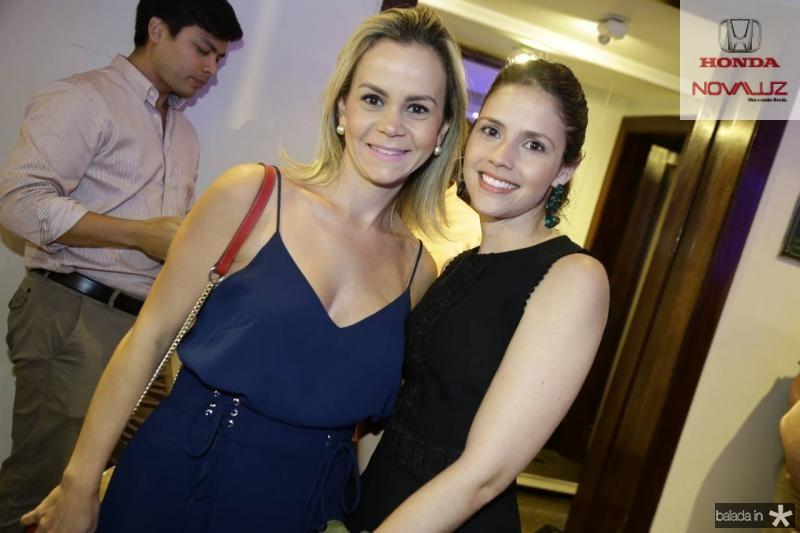 Maria Teresa Negreiros e Isris Leite